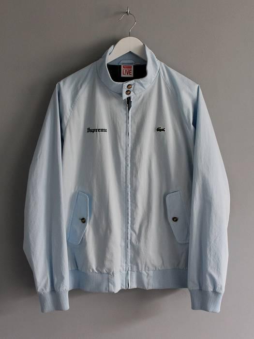 fe7199744e5de Supreme Supreme x Lacoste Harrington Jacket Size l - Light Jackets ...