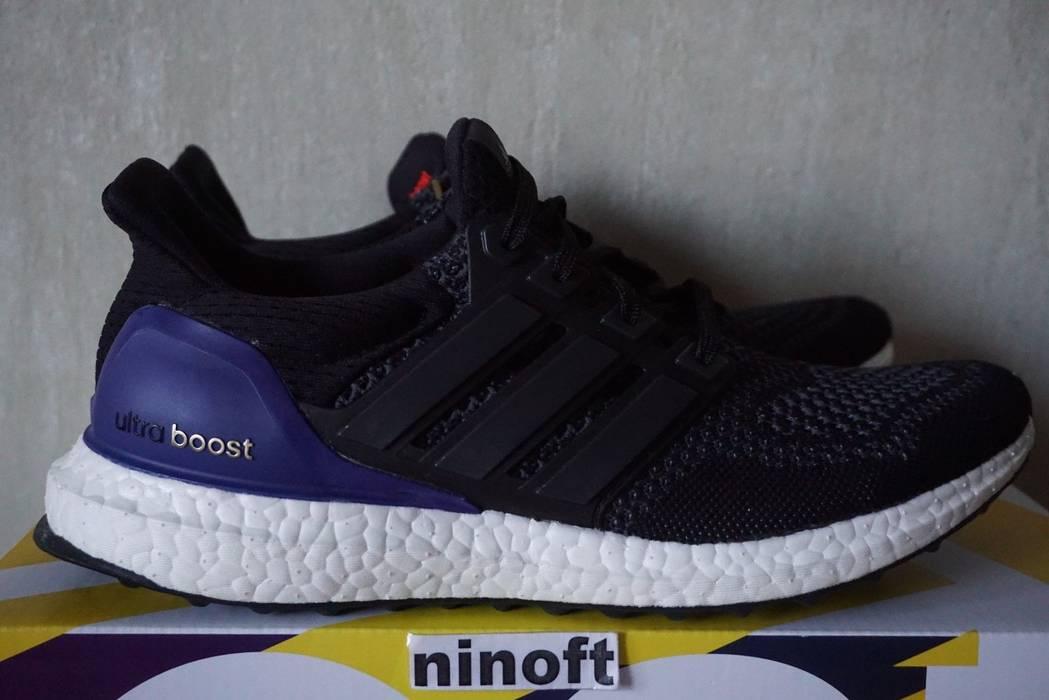 Adidas Adidas Ultra Boost 1.0 OG Core Black Purple B27171 Size 8 ... db780fef6