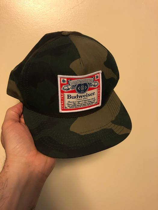 89901387dd9 Supreme Supreme X Budweiser Cap Size one size - Hats for Sale - Grailed