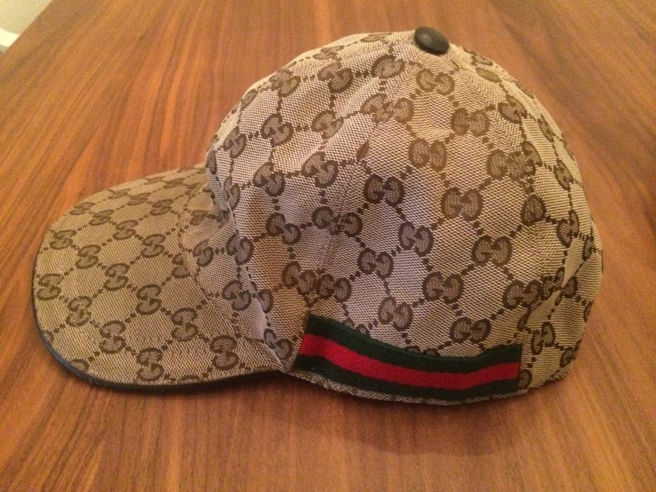 730bd89dd68 Gucci Gucci Logo Cap Size L Size one size - Hats for Sale - Grailed