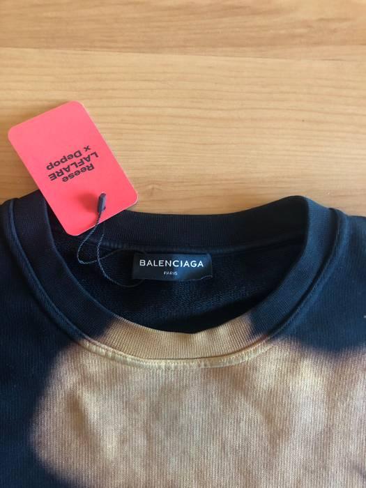 0c1fbd67562 Balenciaga FINAL PRICE DROP Balenciaga Homme Bleached Crewneck Sweatshirt  Size L Size US L   EU