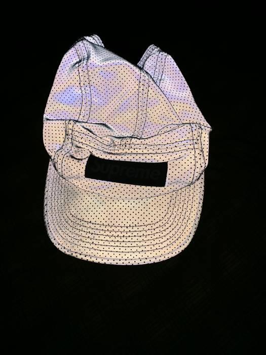 Supreme Supreme 3m Reflective Camp Cap Silver Size one size - Hats ... b5f0cac6bcc2