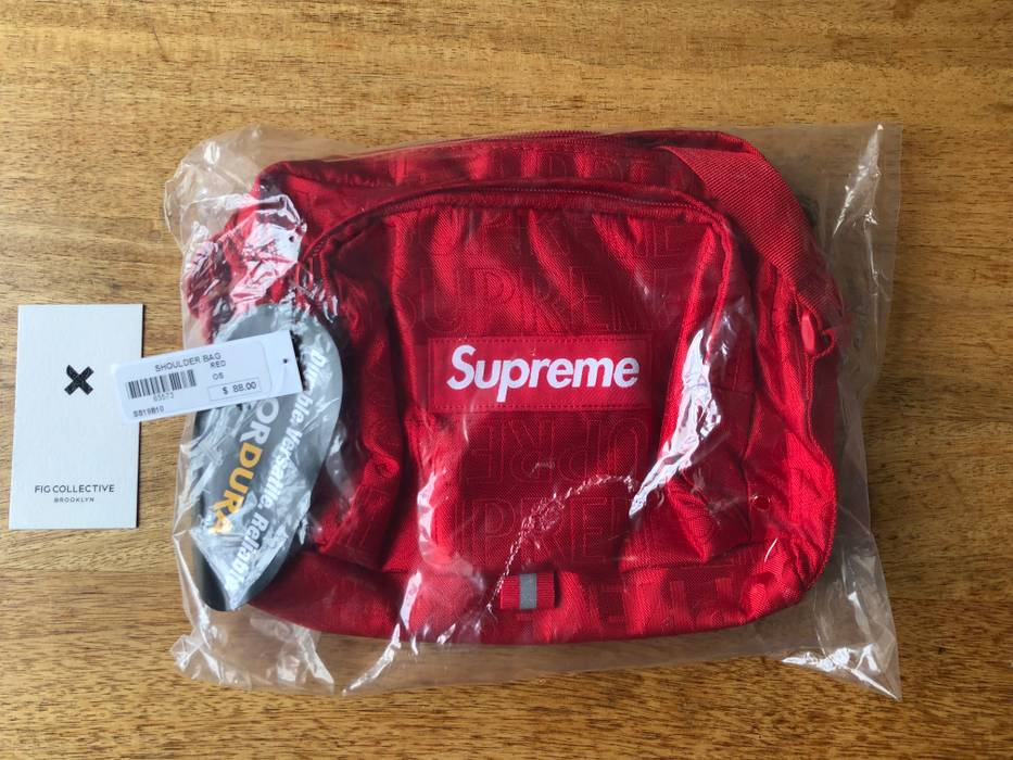 Supreme Shoulder Bag (SS19) - Red Size one size - Bags   Luggage for ... bcdf9028fb033