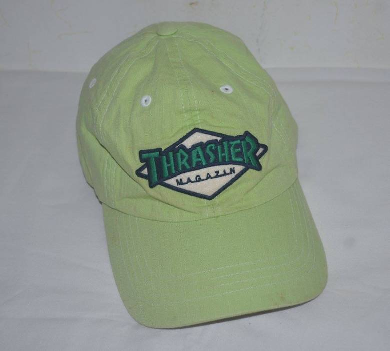 c051abb2cb7 Thrasher Vintage Thrasher Magazine skate vans 90s Cap hat Size one ...