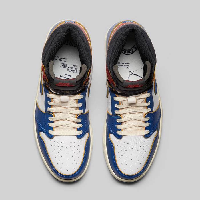 6ec1ad968d2091 Jordan Brand Nike Air Jordan Union Los Angeles UN LA 1 Retro High OG NRG  Storm