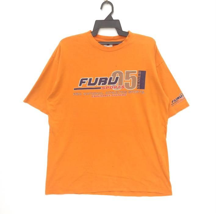 ab80d703c12 Fubu Vintage Fubu Pro National Athletics Sports Big Logo T-shirt ...