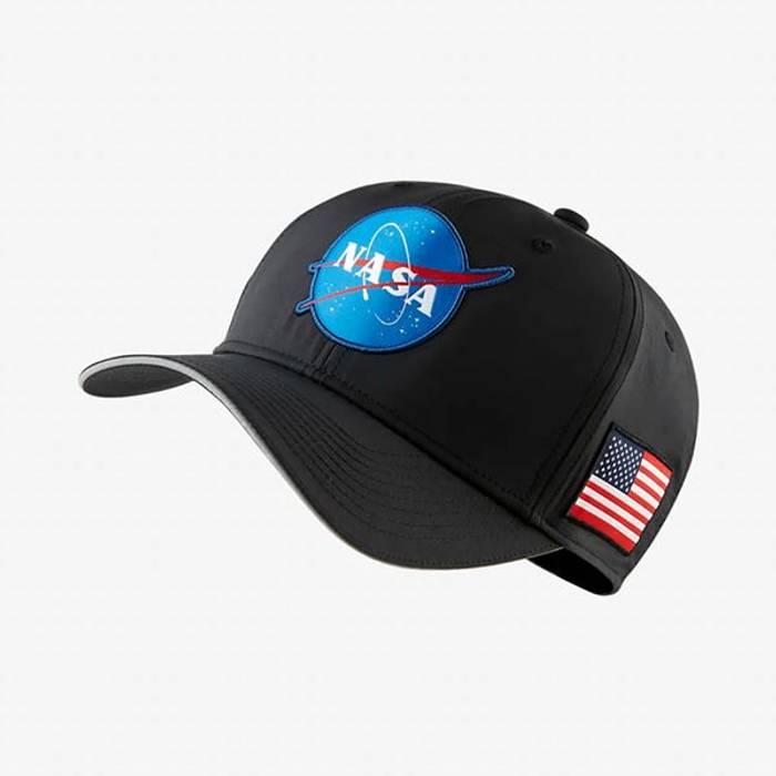 Nike Nike Basketball PG3 NASA hat O S Black CD9681-010 Size one size ... 38d3b393aa0