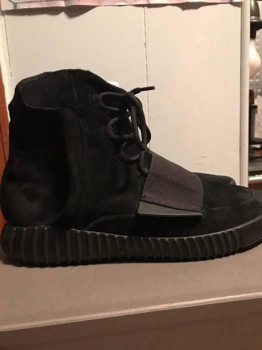 Adidas Adidas Yeezy Boost 750 Triple Black Size 12 - Hi-Top Sneakers ... c7f61bf14
