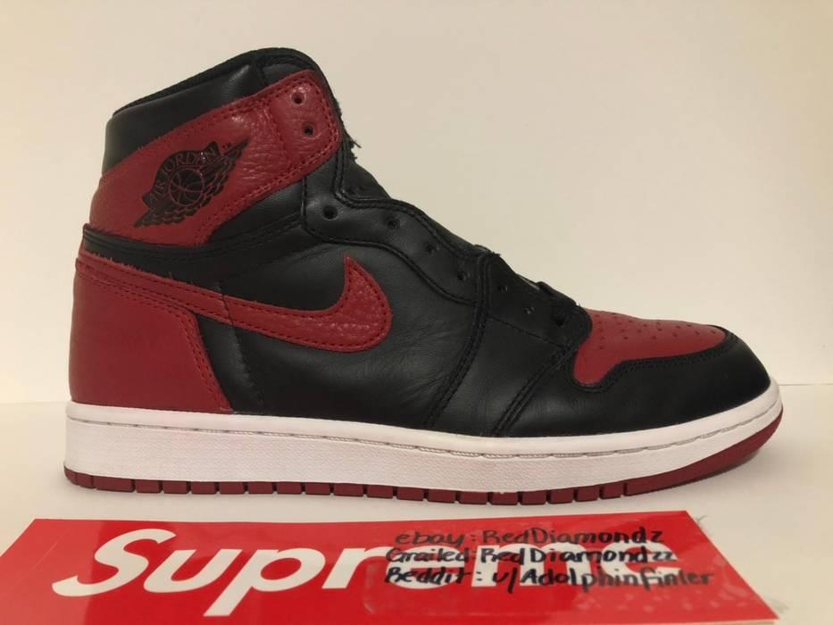 "buy online d6ffd 44685 Nike Air Jordan 1 ""Bred"" ""Banned"" 2016 Size US 9   EU"
