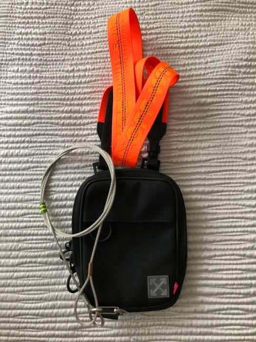 Off-White. Off-White Black Orange Tape Mini Crossbody Bag. Size  ONE SIZE 39489165cb2a1