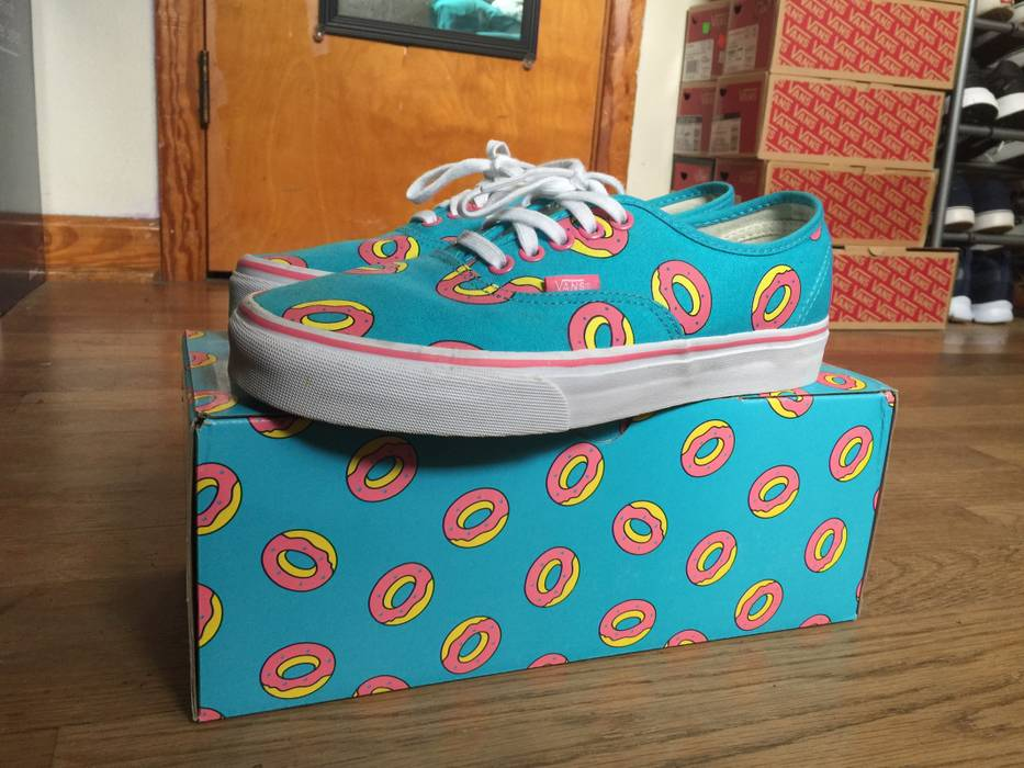 d8b53d311e8f16 Odd Future Odd Future Doughnut Vans Size 8 - Low-Top Sneakers for ...