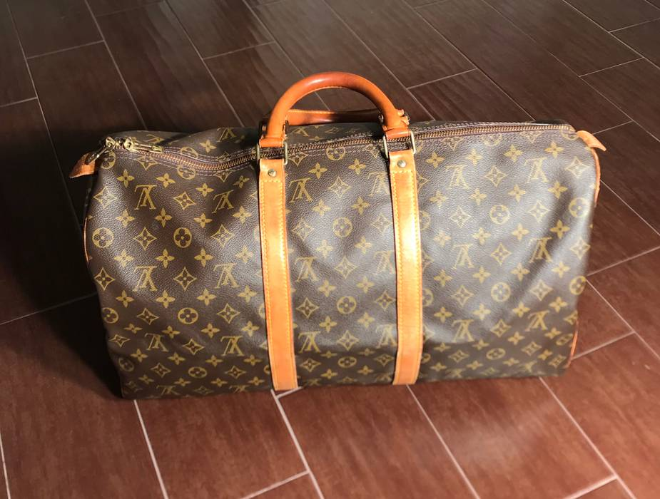Louis Vuitton Louis Vuitton Keepall 50 Malletier Duffle Bag Size ONE SIZE e04fd4f2bc3f1