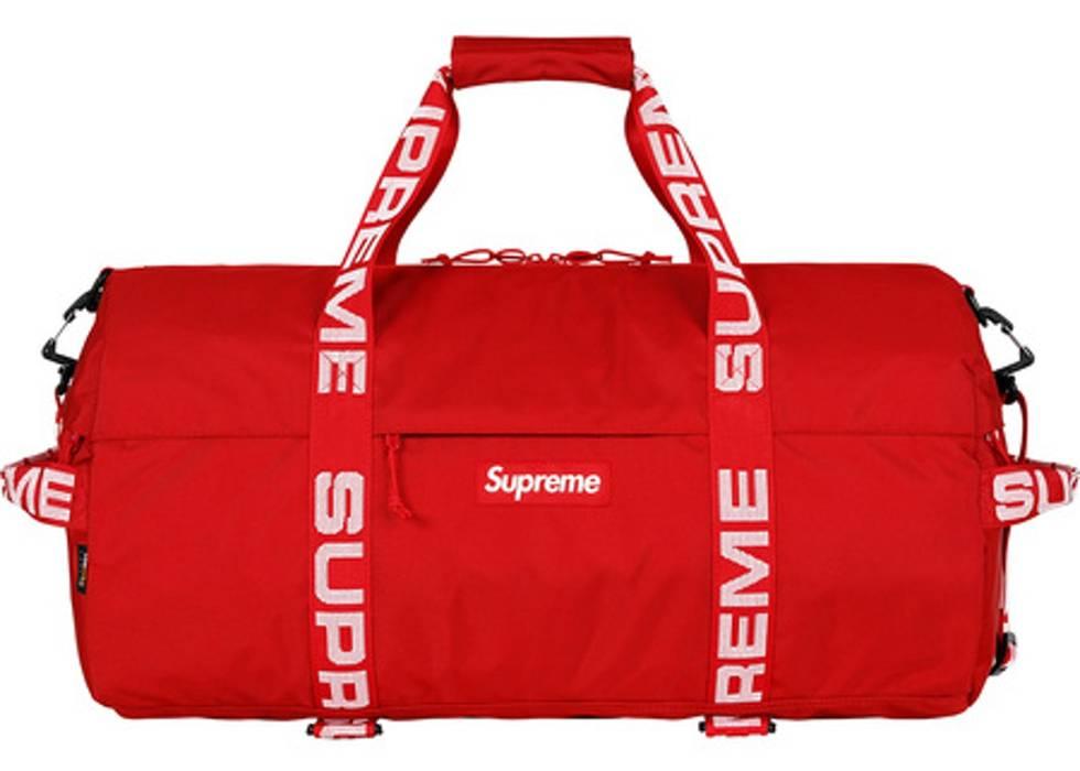 8da46d650a Supreme Duffle Bag Ss18 Red - Bag Photos and Wallpaper HD