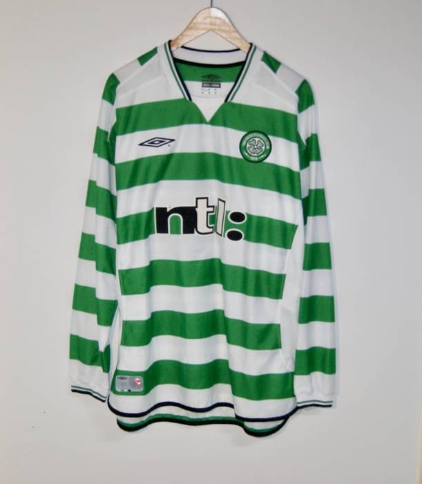 9f68ecac4 Vintage Celtic FC Umbro PETROV 2002 Football Soccer Jersey Futbol Size XL  Size US XL