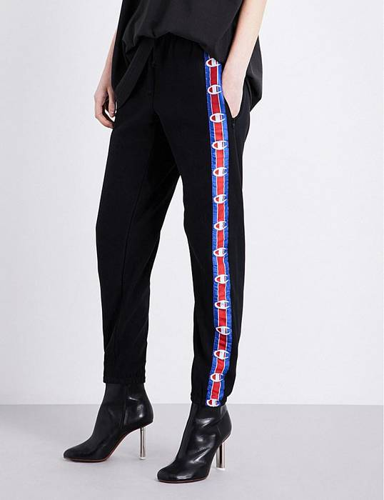 83f4fdb6c49d Champion VETEMENTS X CHAMPION BLACK TRACK PANTS Size 32 - Sweatpants ...