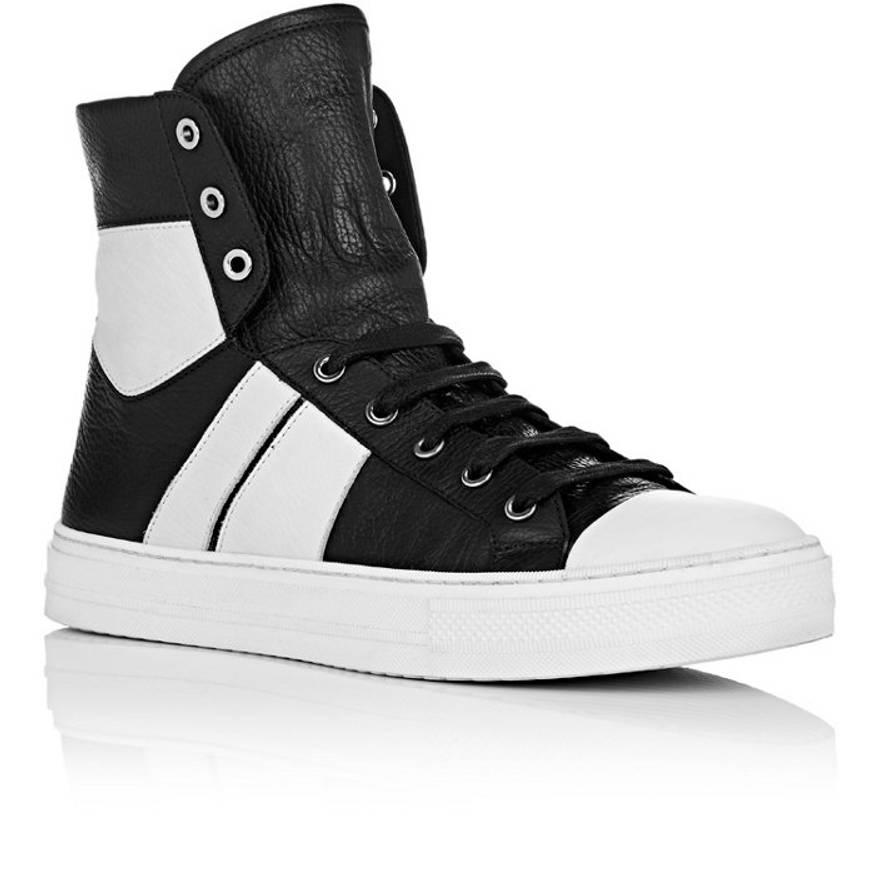 Amiri Black & White Sunset High-Top Sneakers 2kkSHWhCeY