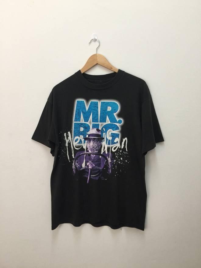 Vintage mr big shirt / size large AftOw