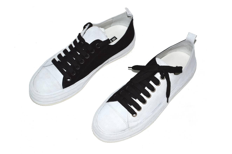 Sneaker Bianco Nero - 43 ESV7GUeaA
