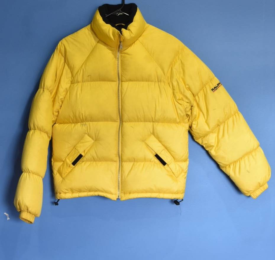Bubble Jackets Jacket Ralph Light Yellow Size Polo S Lauren qpHgwgUSz