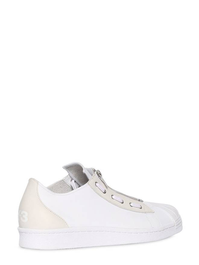 Yohji Yamamoto SUPER LEATHER SNEAKERS Buy Cheap Cost Low Shipping Fee Online vNxgzSV