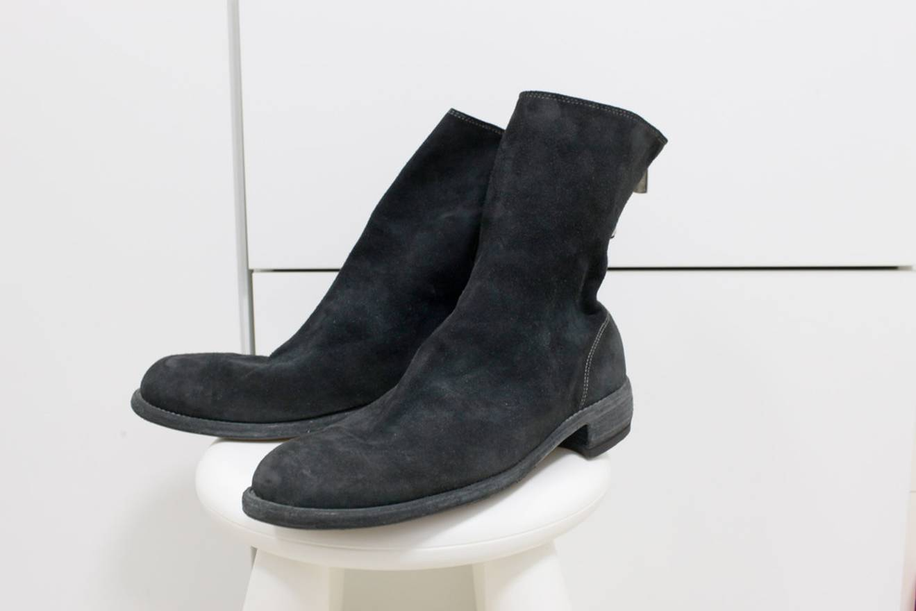 GUIDI REVERSE LEATHER BOOTS y6RIVV1Z