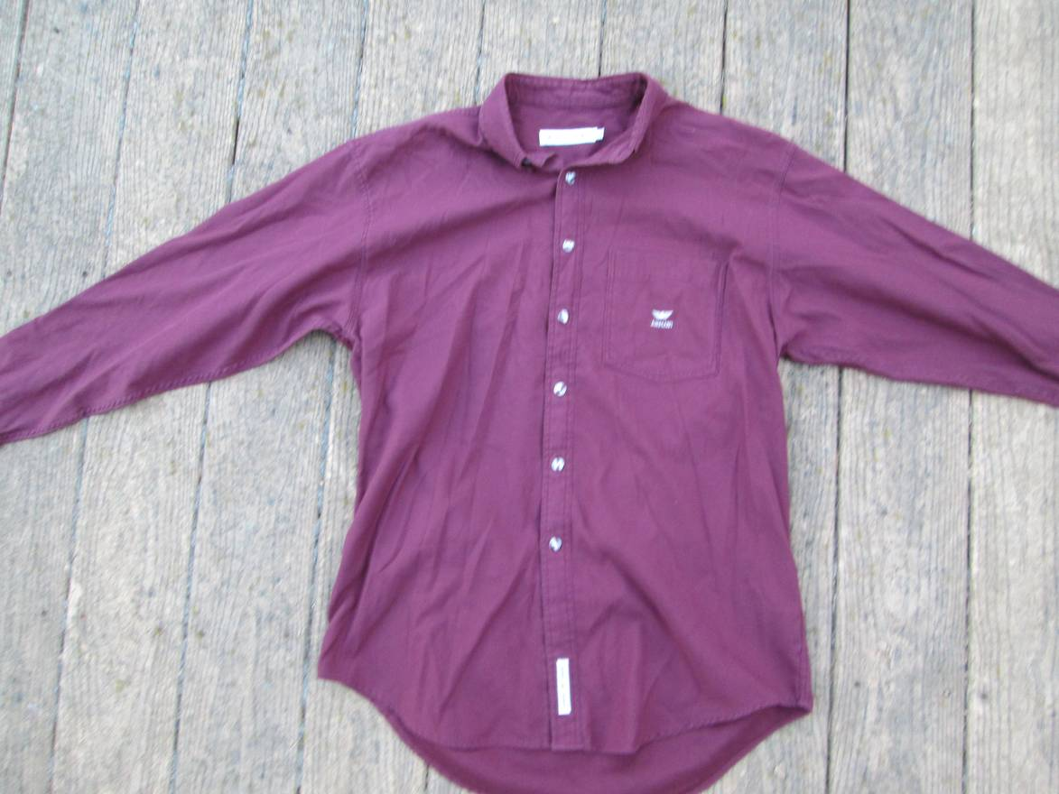 Ups Up Shirts Shirt Armani button Emporio Button Xl For Size wq7ng8