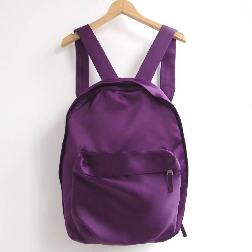 Collab Backpack Btqoi Eastpak X Satin Purple Raf Bag Simons fPTUqS