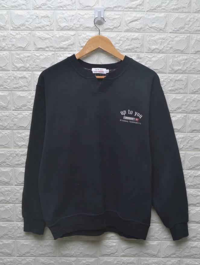 Vintage kansai man big logo sweatshirt size M 2orzWaMOC