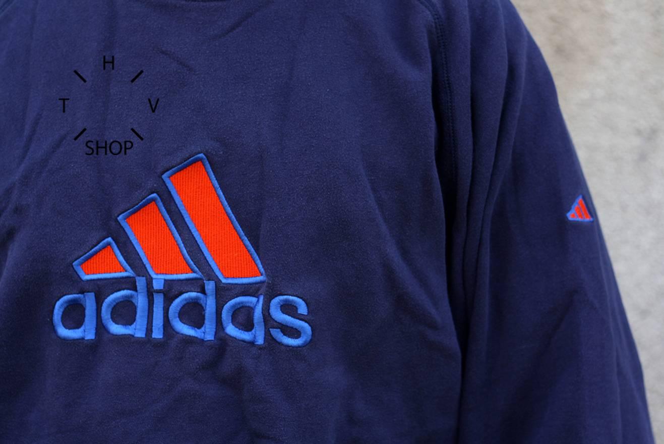 Vintage 90s ADIDAS EQT equipment logo sweatshirt crewneck ibec1Mo