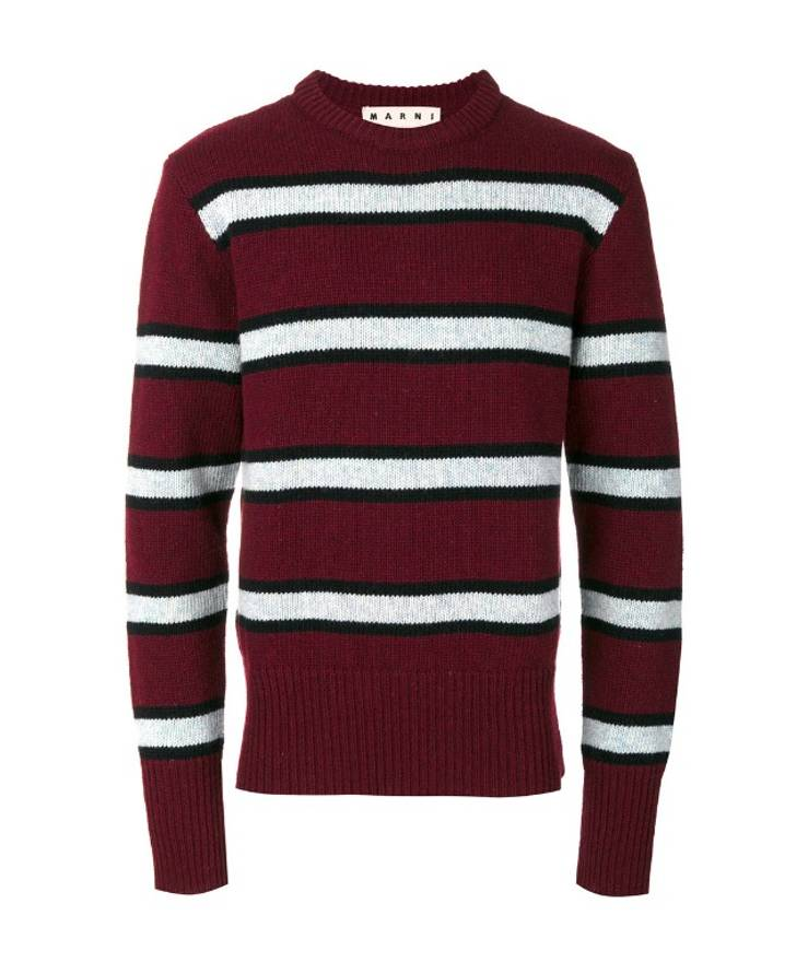 Marni Crew Neck Knit Top w/ Tags Recommend Cheap Price Clean And Classic Purchase For Sale 5ZYGpFoGRl