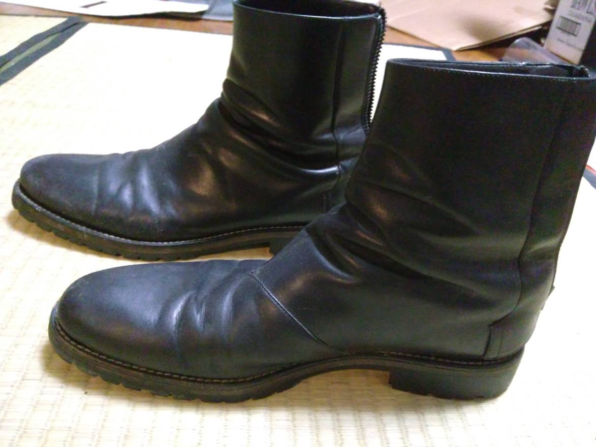 Acne Studios Leather Combat Boots Clearance 2018 l3bdmEA1Wc