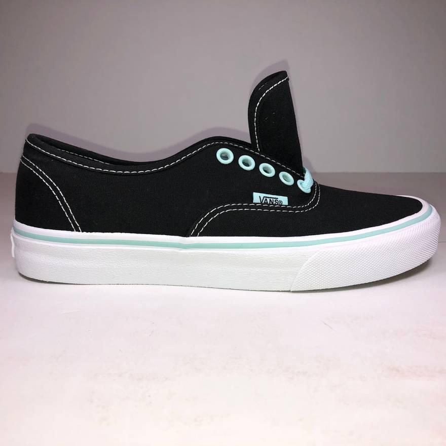 Vans Sneakers With Tint Blue Authentic Pop aqua Black 7 Size 6wf76xraq 8a5388b915a