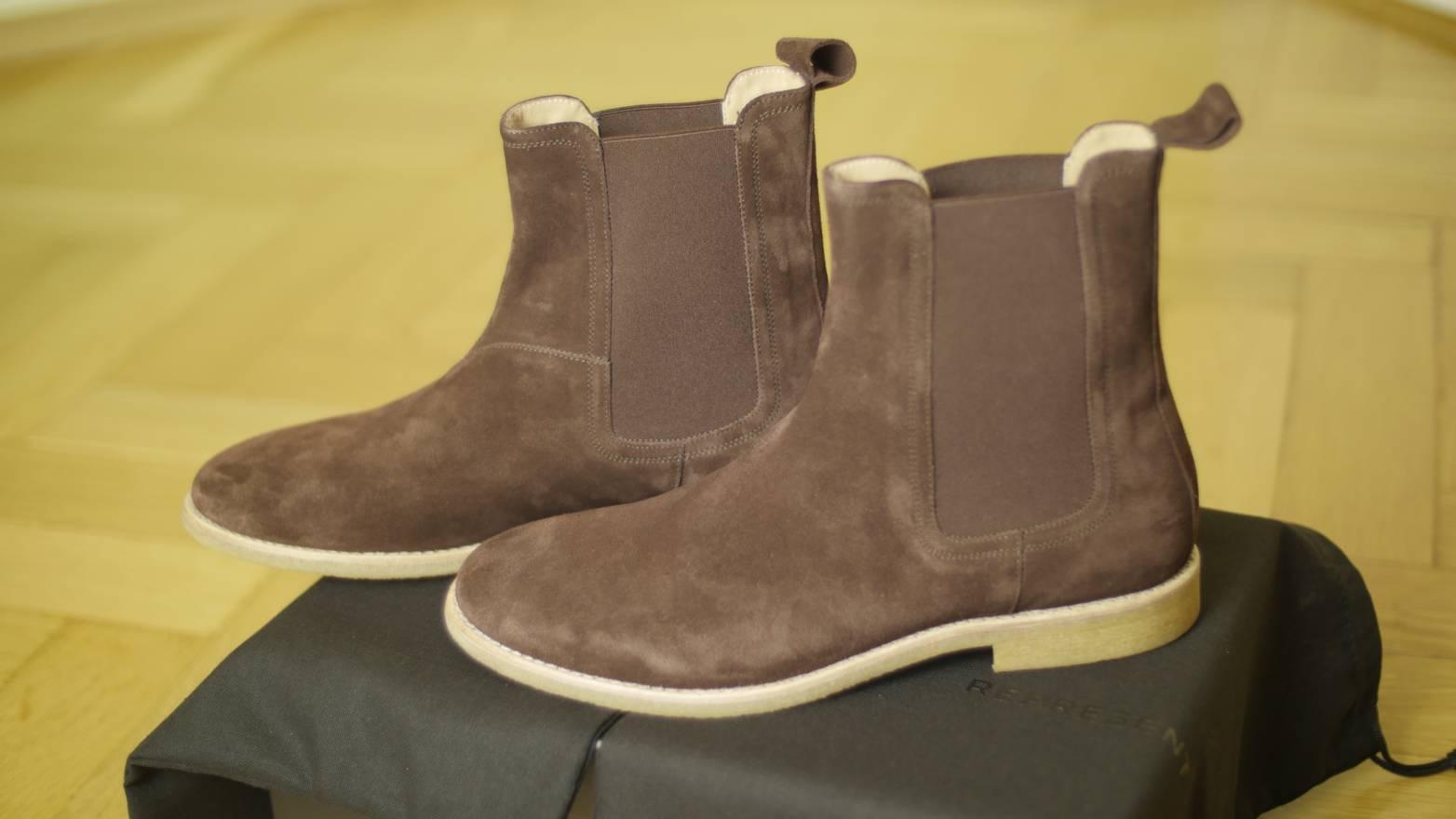 Chelsea boots - Brown Represent Jnki24