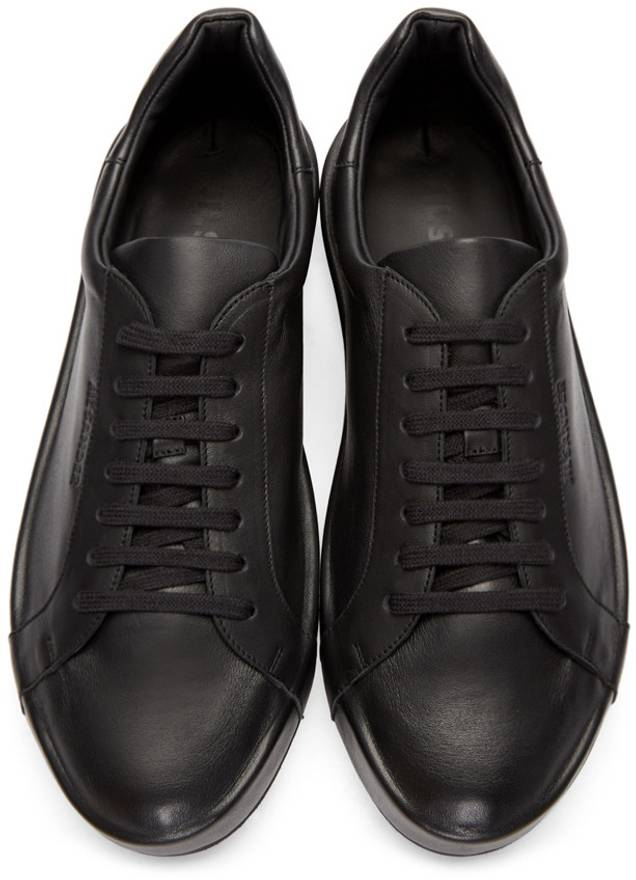 low top sneakers - Black Jil Sander Nsylwh