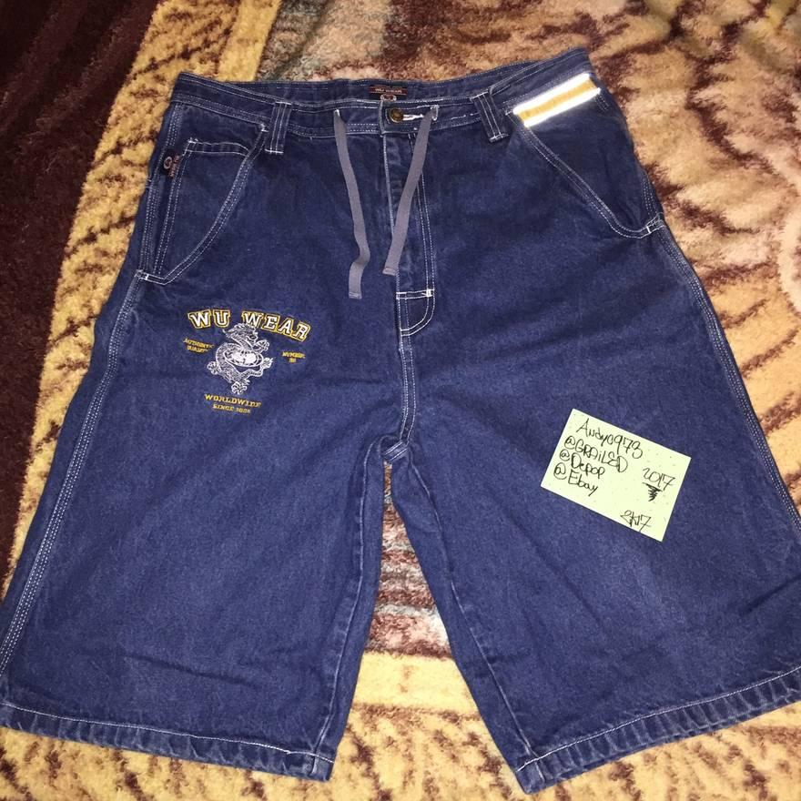 Vintage Wu-Tang wu wear shorts size 40 OsKhAjYj
