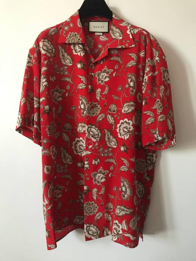 Cheap Sale Best Prices Cheap With Mastercard Floral print silk shirt KdfmTsgRl