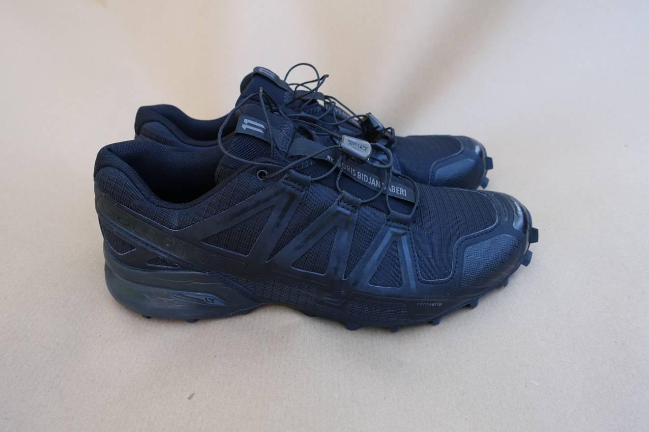 11 Par Boris Bidjan Saberi Solomon 4 Chaussures De Sport - Noir vOLA1