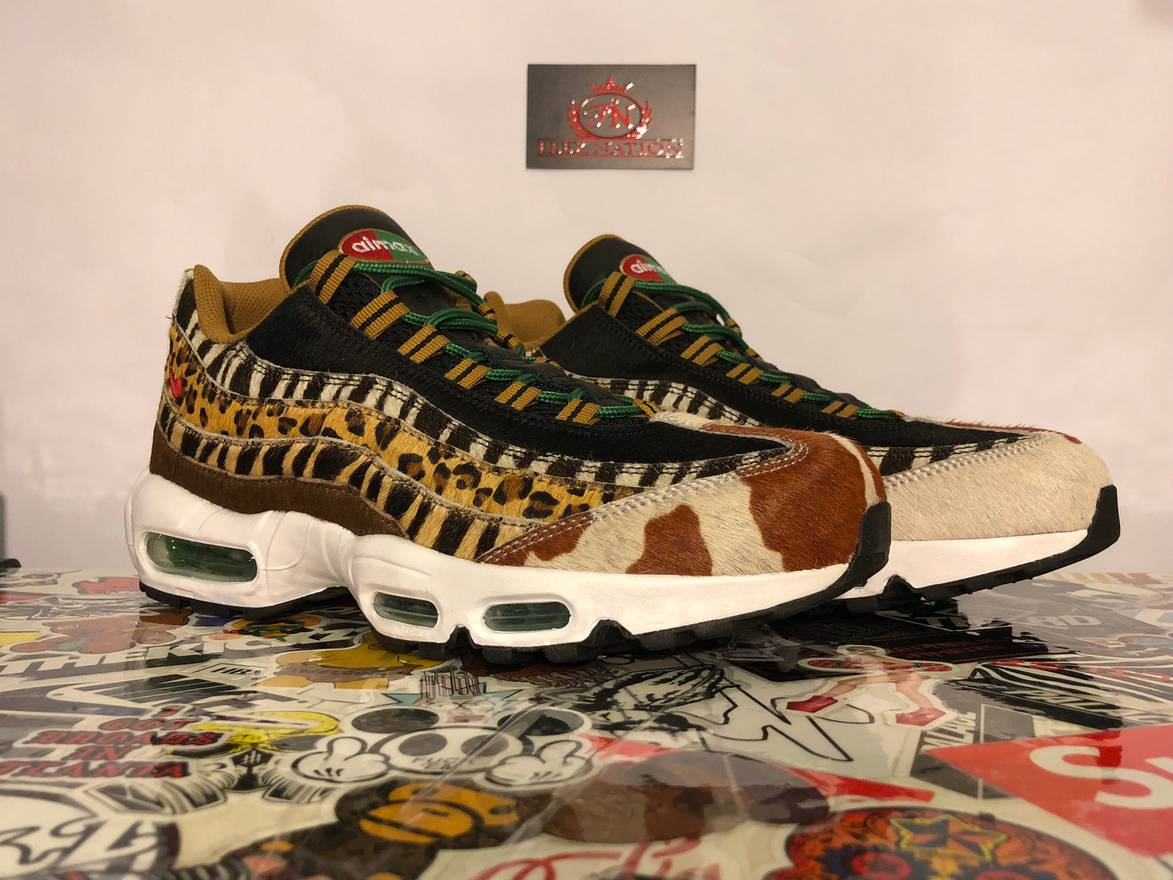 newest collection dba6c 003e6 95 7 Nike Animal Max 0 Atmos Air Top Sneakers Pack Nike 2 Low Size 4tZv4