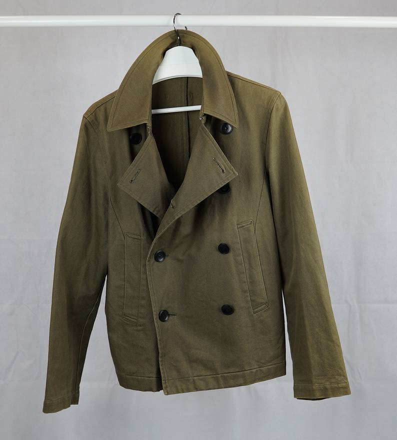 Jean Paul Gaultier Short Wool Coat Sale Wide Range Of 5YRO3OPZK