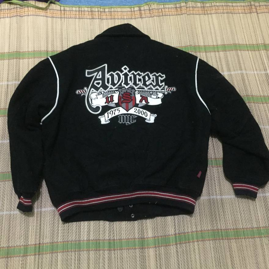 Avirex varsity sweatshirt with big logo xP1s8o8t