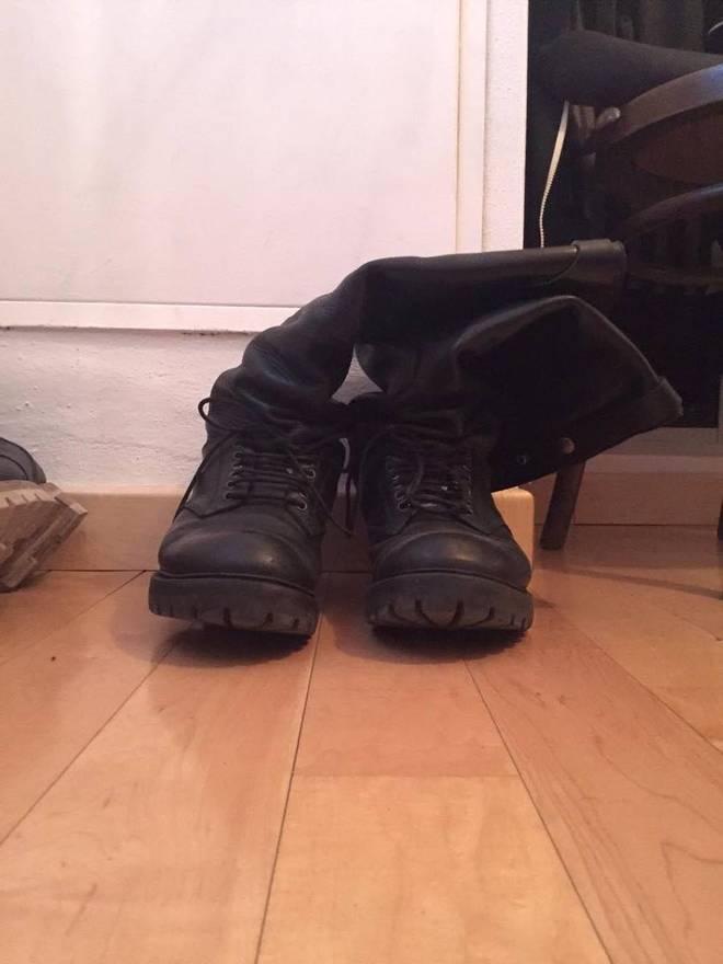 Rick Owens Cop Shoes