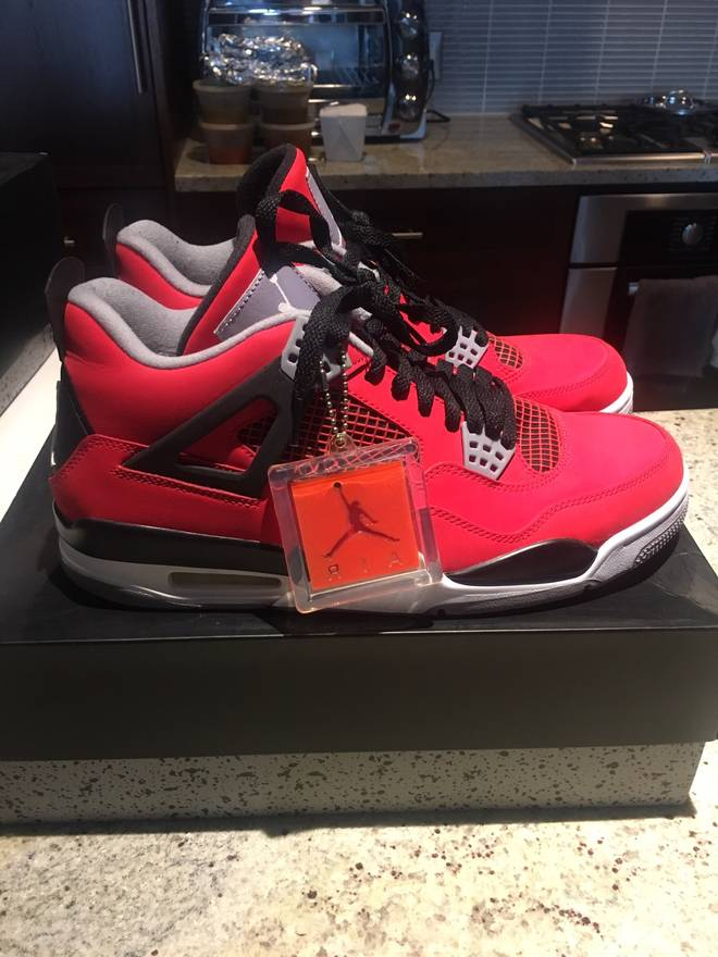 F92f1 Ebay Jordan Red Eb68c 4 Fire Quality RL345Aj