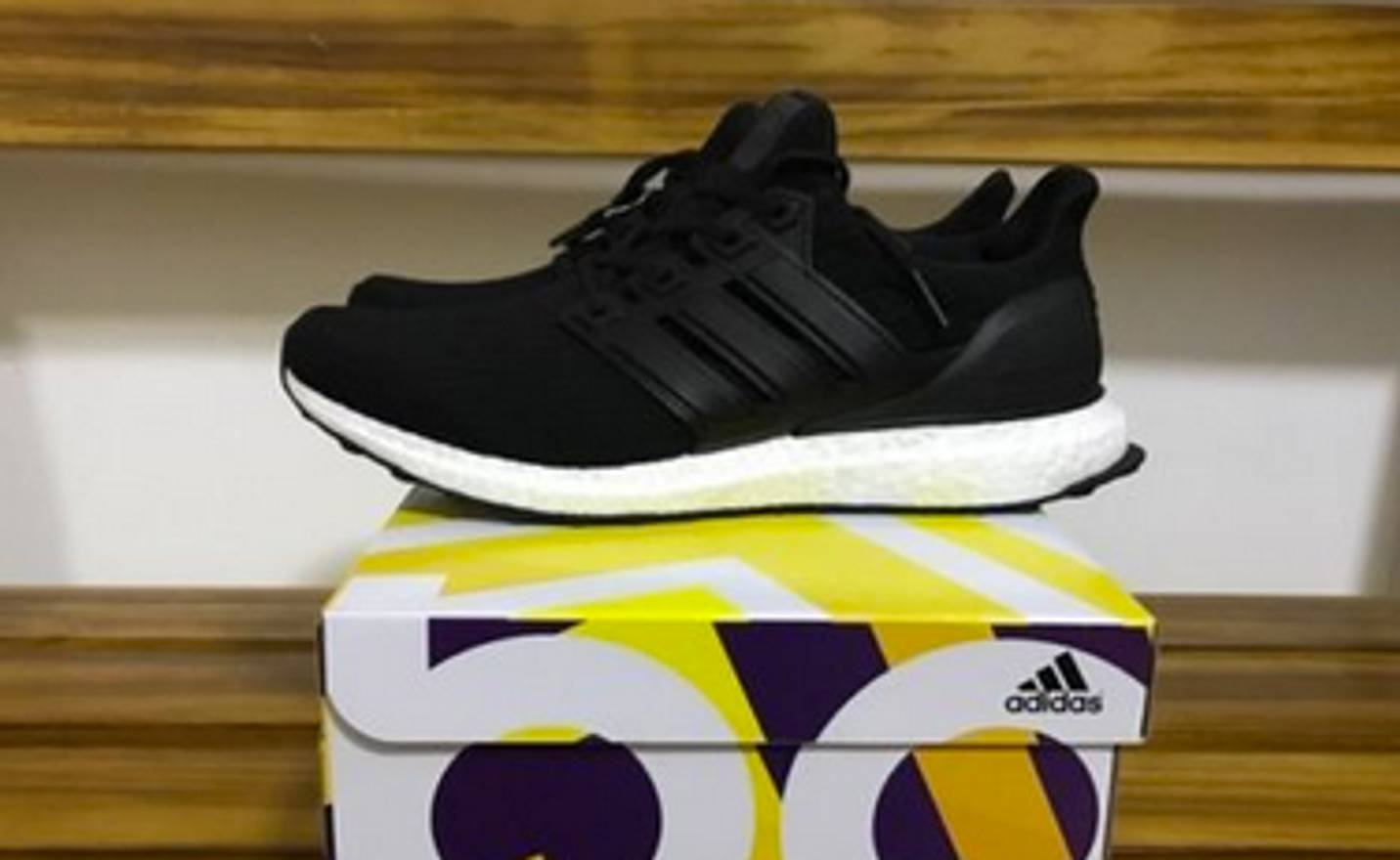 170eaa9970d60 ... best adidas adidas ultra boost ltd 3.0 core black leather cage ba8924  size 11 yeezy 350