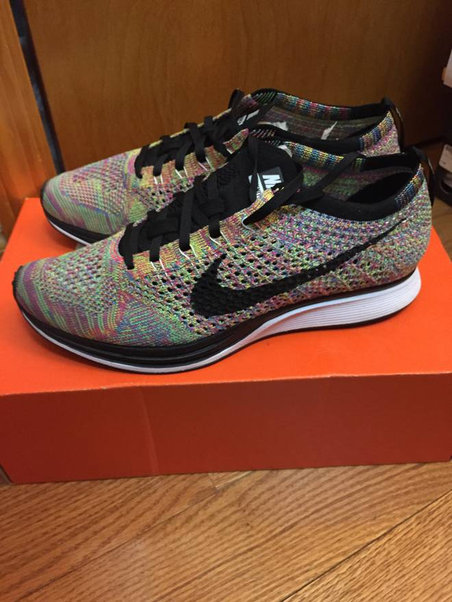 4e17f8e4a466 ... coupon code for nike nike flyknit racer multicolor 1.0 size us 8 eu 41  3a236 233c5