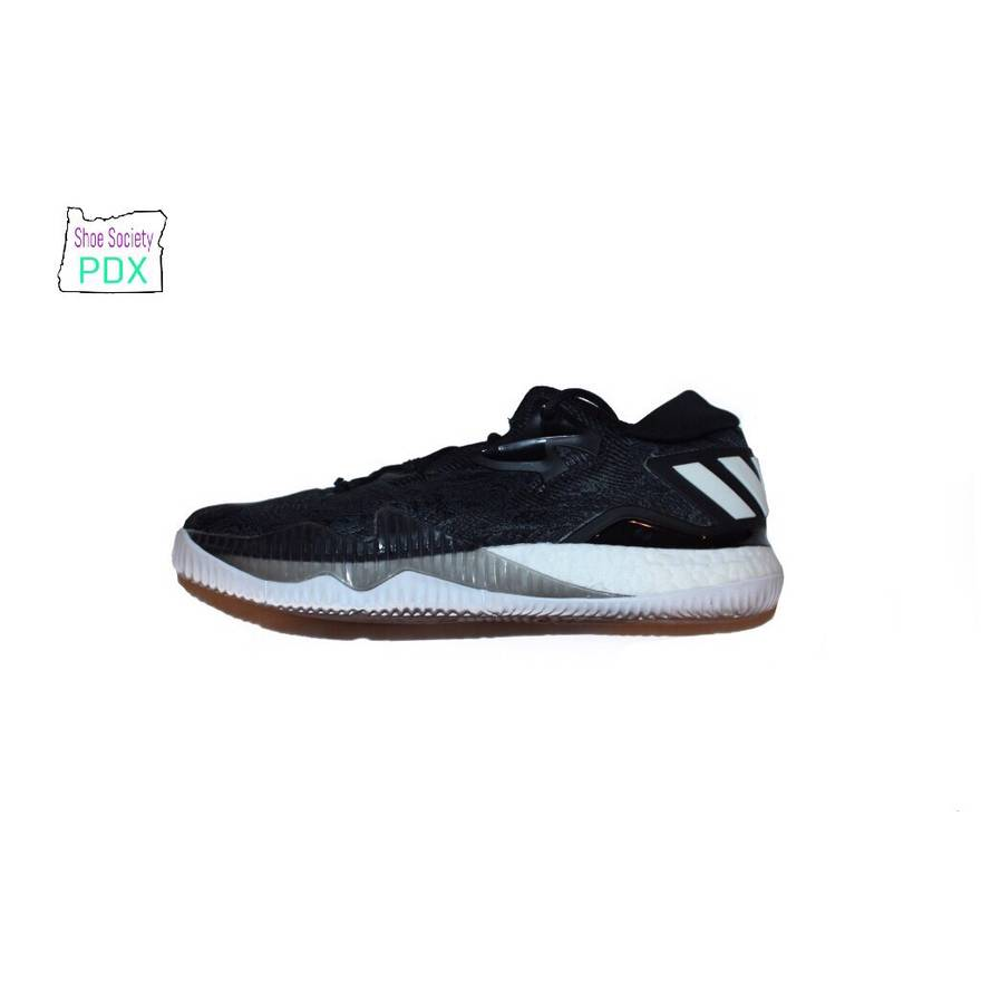 new style 0e4a0 57407 ... Adidas Crazylight Boost 2016 Black Ice Size US 12.5 EU 45-46 .