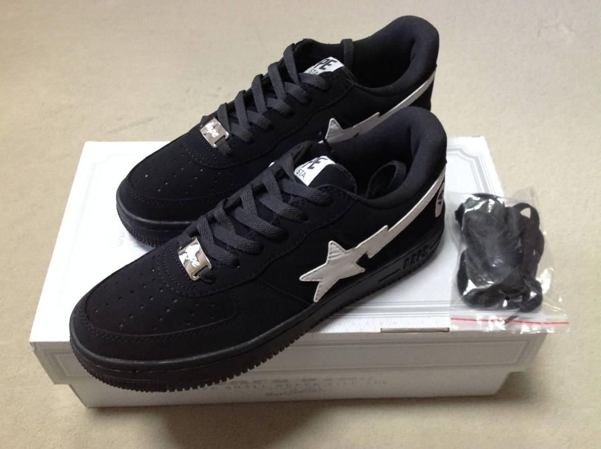 100% authentic 4501c 30338 Bape BAPE BLACK FRIDAY BAPESTA Size US 9.5 EU 42-43 ...