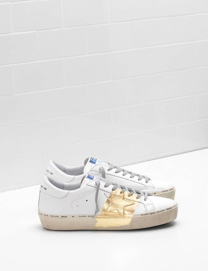 Golden Goose Hi Star Low-Top Sneakers