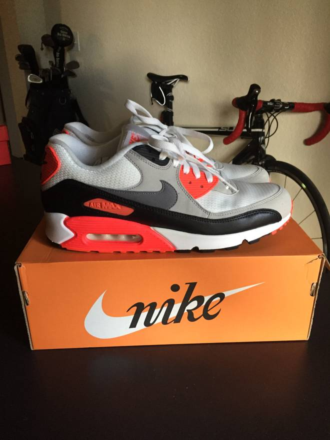 28c95f1284224 ... cool grey newtral b3470 6ae28  new zealand nike air max 90 og infrared  size us 11.5 2ede0 7e76b