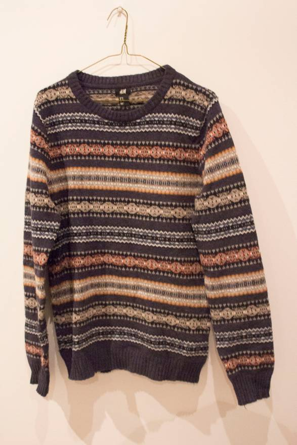 H&M Fair Isle Sweater Size m - Sweaters & Knitwear for Sale - Grailed