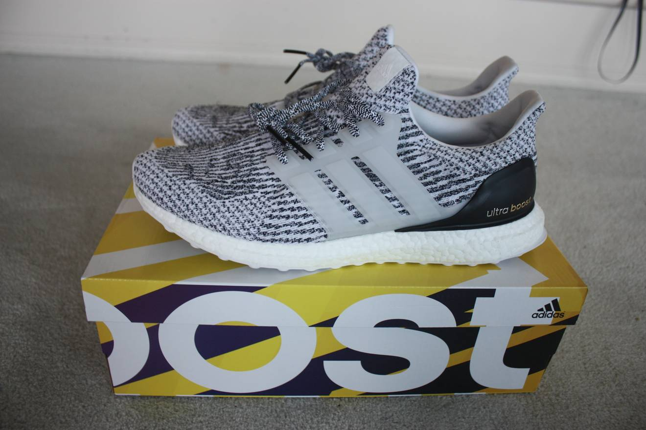 best sneakers 2ebbc c8b2b ... low price adidas ultra boost 3.0 zebra oreo size us 12 eu 45 57ca3 eb0e0